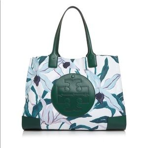 TORY BURCH Ella tropical floral tote ✨🌟🍃🤩✨🌻✨🍃